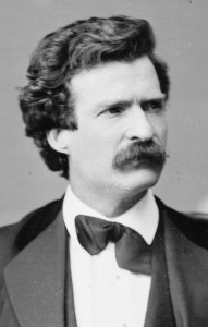 Mark Twain (Source: Wikipedia Commons)